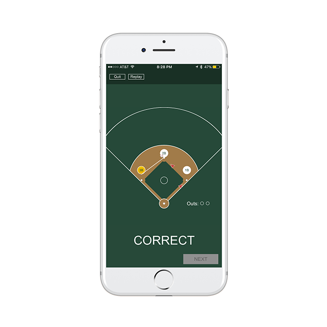 Mobile Phone Screenshot - Correct